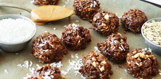 Fursecuri de Ciocolata cu Cocos Fara Coacere